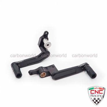 Brake Lever and clutch lever adjustable black CNC Racing for Ducati Panigale
