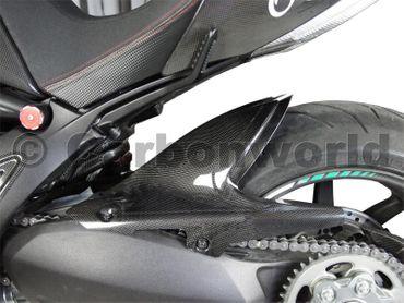 Hinterradabdeckung Carbon für Ducati Diavel – Bild 3