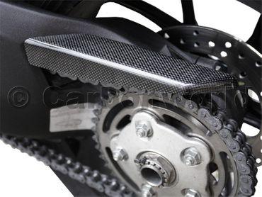 chain guard rear carbon for Ducati 848 Streetfighter 848 – Image 4
