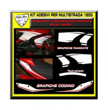 decal sticker kit evo for Ducati Multistrada 1200 – Image 1
