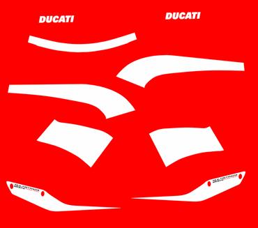 decal sticker kit Pikes Peak for Ducati Multistrada 1200 – Image 1