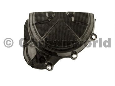engine cover left carbon for Ducati 1199 1299 Panigale – Image 1