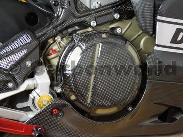 engine cover right carbon for Ducati 1199 Panigale – Image 2