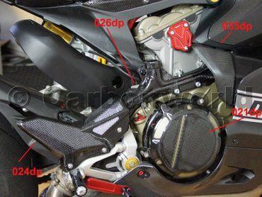 carter ispezione fase destro carbonio per Ducati 1199 Panigale – Image 4