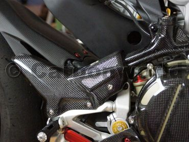 Fersenschutz Corse Carbon für Ducati 899 959 1199 1299 Panigale – Bild 6