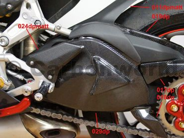 heelguards corse carbon for Ducati 899 959 1199 1299 Panigale – Image 9