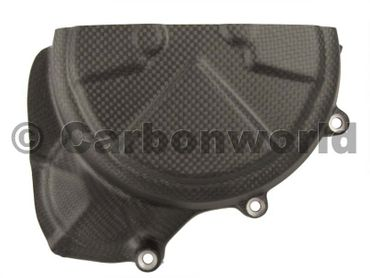 engine cover left carbon mat for Ducati 1199 1299 Panigale – Image 1