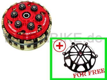 Antihopping Kupplung rot Ducabike 6 Federn für Ducati – Bild 1