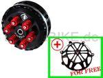 Antihopping Kupplung schwarz Ducabike 6 Federn für Ducati 001