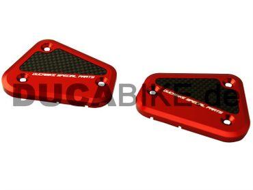Behälterdeckel kit rot Ducabike für Ducati Streetfighter – Bild 1