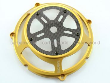 clutch cover gold Ducabike for Ducati