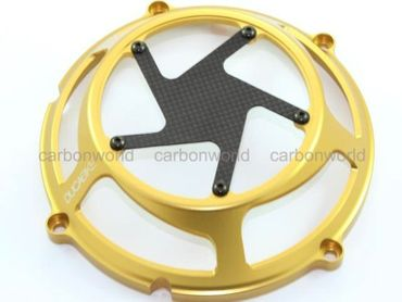 clutch cover race gold Ducabike for Ducati