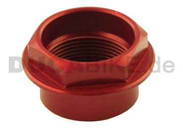 Front wheel nut red Ducabike for Ducati – Image 1