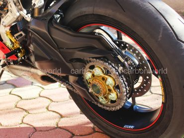 PC6F01 Kettenblattträger Ducabike für Ducati Multistrada 1200 1260 SuperSport – Bild 6