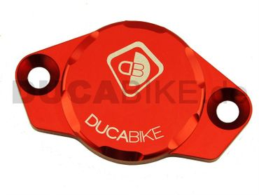 engine cover anodized red Ducabike for Ducati – Image 1