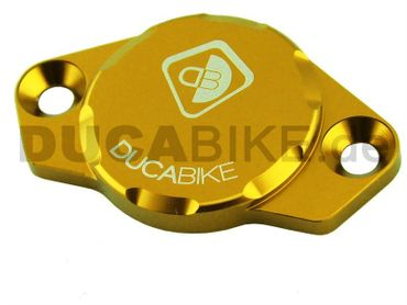 engine cover anodized gold Ducabike for Ducati – Image 3