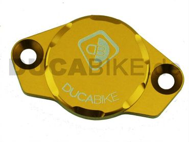 engine cover anodized gold Ducabike for Ducati – Image 1
