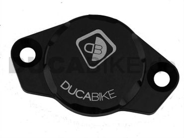 engine cover anodized black Ducabike for Ducati – Image 1