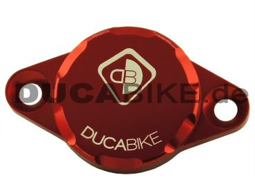 engine cover red Ducabike for Ducati – Image 1
