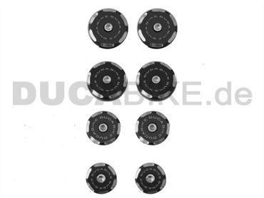 Rahmenstopfen schwarz Ducabike für Ducati Diavel – Bild 1