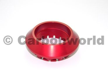 Crown nut rear red left Ducabike for Ducati – Image 3