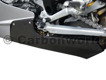 belly pan carbon fiber strada for MV Agusta F3 675 800 – Image 4