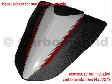 seat cover carbon fiber for Ducati Multistrada 1200 – Image 10