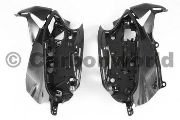 Elektronikaufnahmen aus Carbon für Ducati 899 959 1199 1299 Panigale – Bild 1