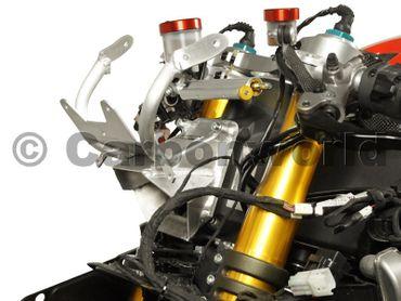 Verkleidungshalter schwarz für Ducati Panigale Serie – Bild 3