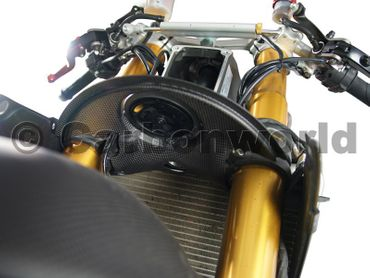 horn cover carbon for Ducati 1199 Panigale – Image 2