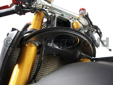 horn cover carbon for Ducati 1199 Panigale – Image 4