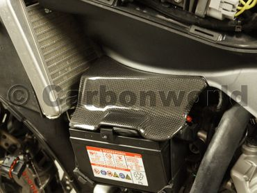battery cover carbon for Ducati 899 959 1199 1299 Panigale – Image 4