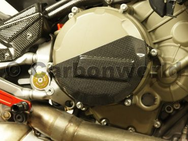 clutch cover carbon for Ducati 1199 1299 Panigale – Image 2