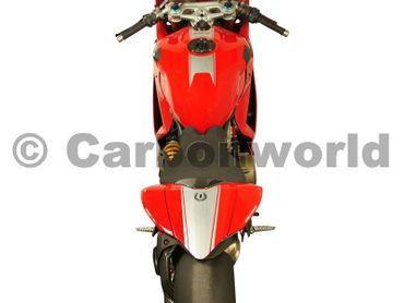 Streifen - Set brushed alluminium für Ducati 899 1199 Panigale