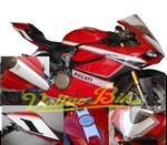 Aufkleber Kit Corse schwarz / weiß für Ducati 899 1199 Panigale 001