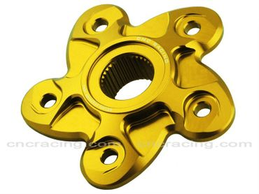 rear sprocket flange gold CNC Racing for Ducati Streetfighter 848, SBK 848 – Image 2