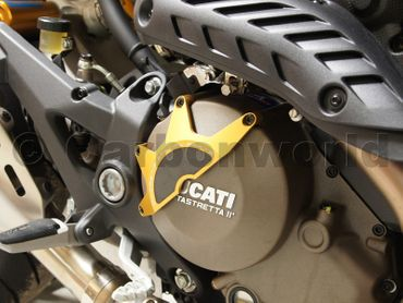 clutch cover racing gold Ducabike for Ducati – Image 4