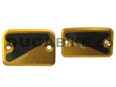 Behälterdeckel kit gold Ducabike für Ducati Monster, Hypermotard – Bild 1