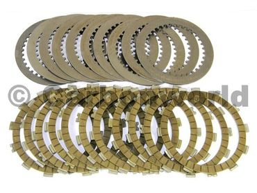 Kit clutch plates compl. racing oil bath Ducabike for Ducati