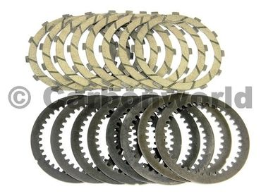 Kit clutch plates  compl. evo kevlar Ducabike for Ducati