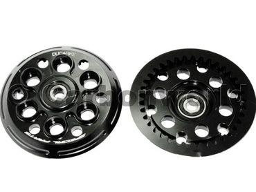 Druckplatte schwarz Ducabike für Ducati  – Bild 2