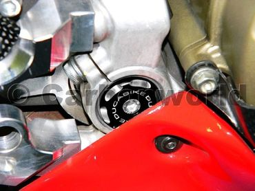 Frame plugs racing black Ducabike for Ducati 1199 Panigale – Image 2