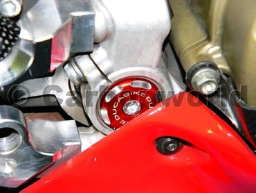 Frame plugs racing red Ducabike for Ducati 1199 Panigale – Image 2