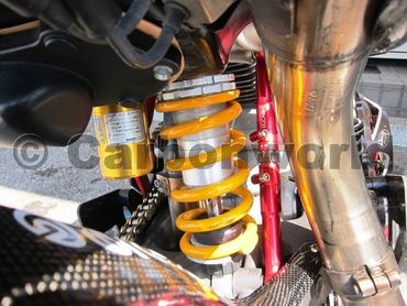 adjustable linkage red Ducabike for Ducati Hypermotard Monster – Image 2
