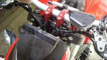 adjustable riser red Ducabike for Ducati Streetfighter – Image 2