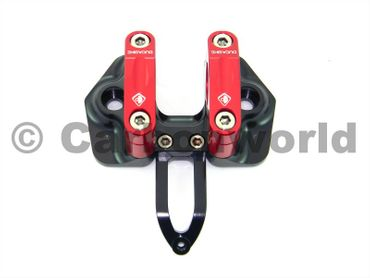 adjustable riser red Ducabike for Ducati Streetfighter – Image 1