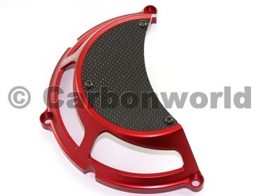 clutch cover red Ducabike for Ducati – Image 1