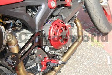 Kupplungsdeckel rot Ducabike für Ducati – Bild 2