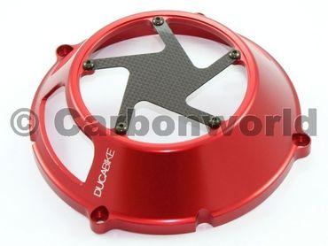 Carter frizione Trockenkupplung rosso Ducabike per Ducati – Image 3
