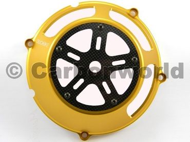 clutch cover gold Ducabike for Ducati – Image 1